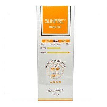 【下殺】荷麗美加 MONA FREMA上麗防曬凝膠Face gel SPF50+ PA+++ 100ML(臉/身體兩用)-新包裝
