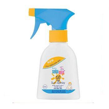 【出清下殺7A】施巴-嬰兒防曬保濕乳(噴霧)SPF50 200ml