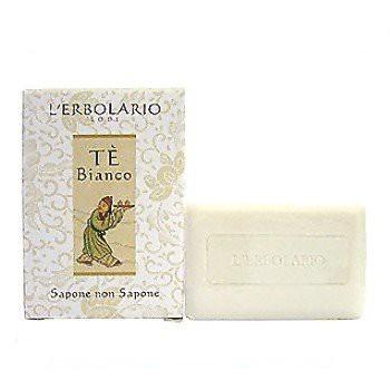 L ERBOLARIO 蕾莉歐 白茶香氛-白茶保濕潔膚皂100g