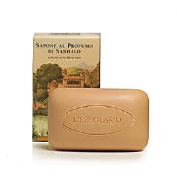 L ERBOLARIO 蕾莉歐 檀香木香氛-檀香木植物香氛皂100g