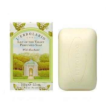 L ERBOLARIO 蕾莉歐 鈴蘭香氛-鈴蘭植物香氛皂100g