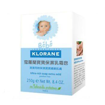 ❤KLORANE 蔻蘿蘭 新生兒乳霜皂250g