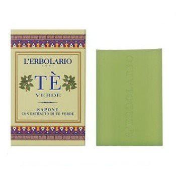 L ERBOLARIO 蕾莉歐 綠茶香氛-綠茶植物潤膚皂100g
