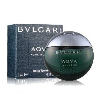 ❤小香下殺❤BVLGARI寶格麗-AQVA水能量男性淡香水5ML迷你小香