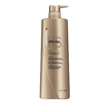 GOLDWELL 歌薇 金萃角蛋白洗髮精1000ml-RICH一般型(黑)