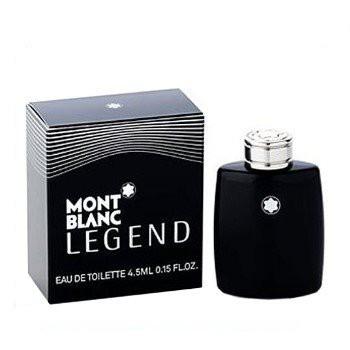 【小香-限量加購】MONTBLANC LEGEND 萬寶龍 傳奇經典男性淡香水4.5ML