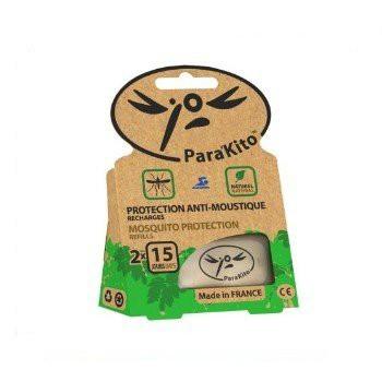 【新上架】法國 Para'Kito 帕洛 天然精油防蚊片補充包2入組
