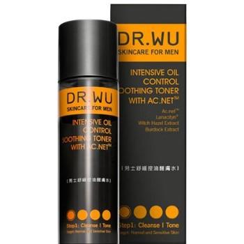 DR.WU 達爾膚 男士舒緩控油醒膚水150ml