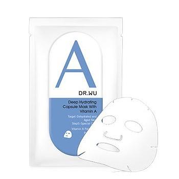【新上架】DR.WU 達爾膚 保濕修復膠囊面膜A-單片