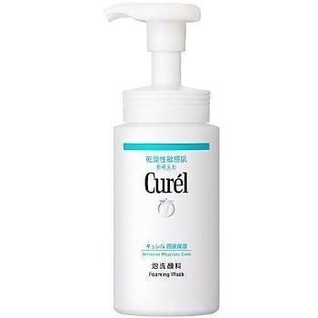 【新上架】Curel 珂潤-潤浸保濕洗顏慕絲150ML