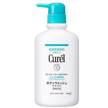【新上架】Curel 珂潤-潤浸保濕沐浴乳420ml
