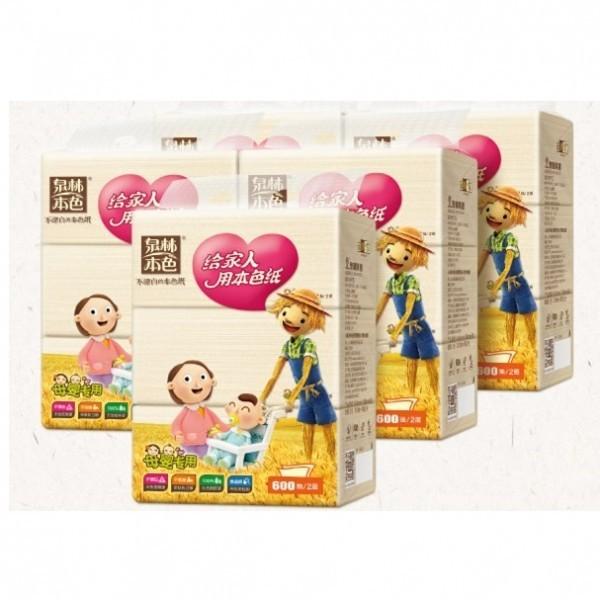【特價】泉林本色 嬰兒紙巾(衛生紙)200抽X3包