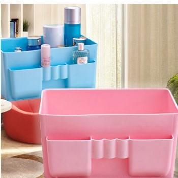 【新上架】塑膠多格整理收納盒(3色供選)